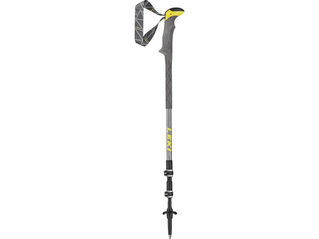 LEKI Sherpa Lite XTG Trekking Poles grey/yellow/coolgrey/white